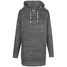 Buy Fat Face Pembrey Longline Overhead Hoody, Charcoal Online at johnlewis.com
