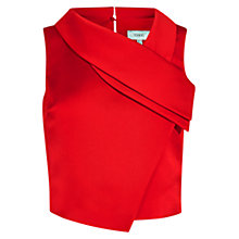 Buy Coast Noella Top, Red Online at johnlewis.com