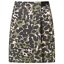 Buy Miss Selfridge Camo D-Ring Mini Skirt, Multi Online at johnlewis.com