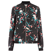 Buy Oasis Osaka Print Bomber Jacket, Multi Online at johnlewis.com