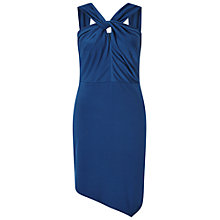 Buy Miss Selfridge Slinky Twist Neck Dress Online at johnlewis.com