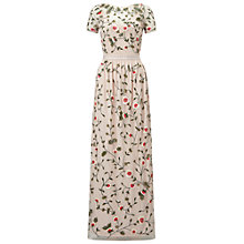 Buy Miss Selfridge Alice Floral Maxi Dress, Multi Online at johnlewis.com