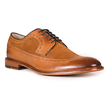 Buy Oliver Sweeney Ossington High Shine Brogues, Tan Online at johnlewis.com