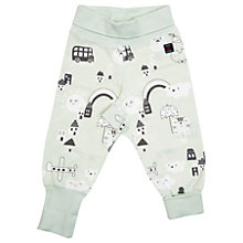 Buy Polarn O. Pyret Baby City Trousers, Green Online at johnlewis.com