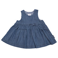 Buy Polarn O. Pyret Baby Denim Dress, Blue Online at johnlewis.com