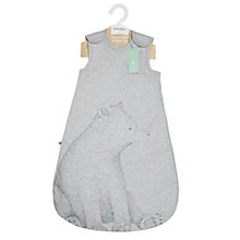 Buy The Little Green Sheep Baby Wild Cotton Bear Sleep Bag, 2.5 Tog Online at johnlewis.com