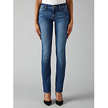 Buy DL1961 Coco Curvy Straight Jeans, Pacific Online at johnlewis.com