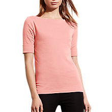 Buy Lauren Ralph Lauren Benny Boat Neck Top Online at johnlewis.com