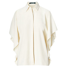 Buy Lauren Ralph Lauren Drape Shirt, Herbal Milk Online at johnlewis.com