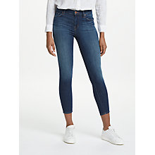 Buy J Brand 835 Mid Rise Cropped Skinny Jeans, Sublime Online at johnlewis.com