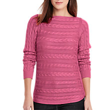Buy Lauren Ralph Lauren Cable Knit Jumper Online at johnlewis.com
