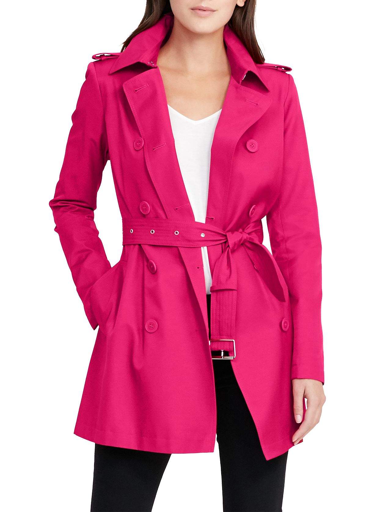 Lauren Ralph Lauren Lauren Ralph Lauren Double-Breasted Trench Coat