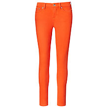 Buy Lauren Ralph Lauren Premier Skinny Jeans, Orange Online at johnlewis.com