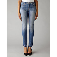 Buy J Brand 811 Mid Rise Skinny Jeans, Angelic Online at johnlewis.com