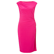 Buy Lauren Ralph Lauren Cap Sleeve Dress, Pink Roseate Online at johnlewis.com