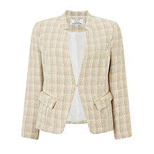 Buy Helene For Denim Wardrobe Popena Jacket, Beige Online at johnlewis.com