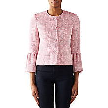 Buy Helene For Denim Wardrobe Choggia Jacket, Fuschia Online at johnlewis.com