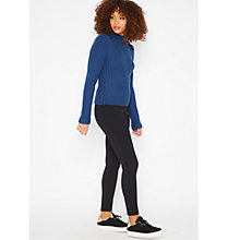 Buy Miss Selfridge Ski Trousers, Black Online at johnlewis.com