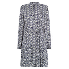 Buy Warehouse Stallion Cloud Dress, Blue Pattern Online at johnlewis.com