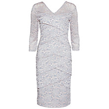 Buy Gina Bacconi Two Tone Lace Dress, Ballet Pink Online at johnlewis.com