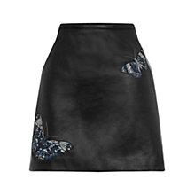 Buy Oasis Princess Trust Mini Skirt, Black Online at johnlewis.com