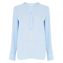 Buy Warehouse Tab Placket Blouse Online at johnlewis.com