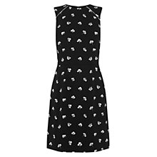 Buy Warehouse Mini Dandy Print Shift Dress, Multi Online at johnlewis.com