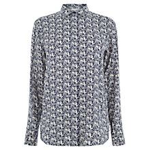 Buy Warehouse Stallion Cloud Shirt, Blue Online at johnlewis.com