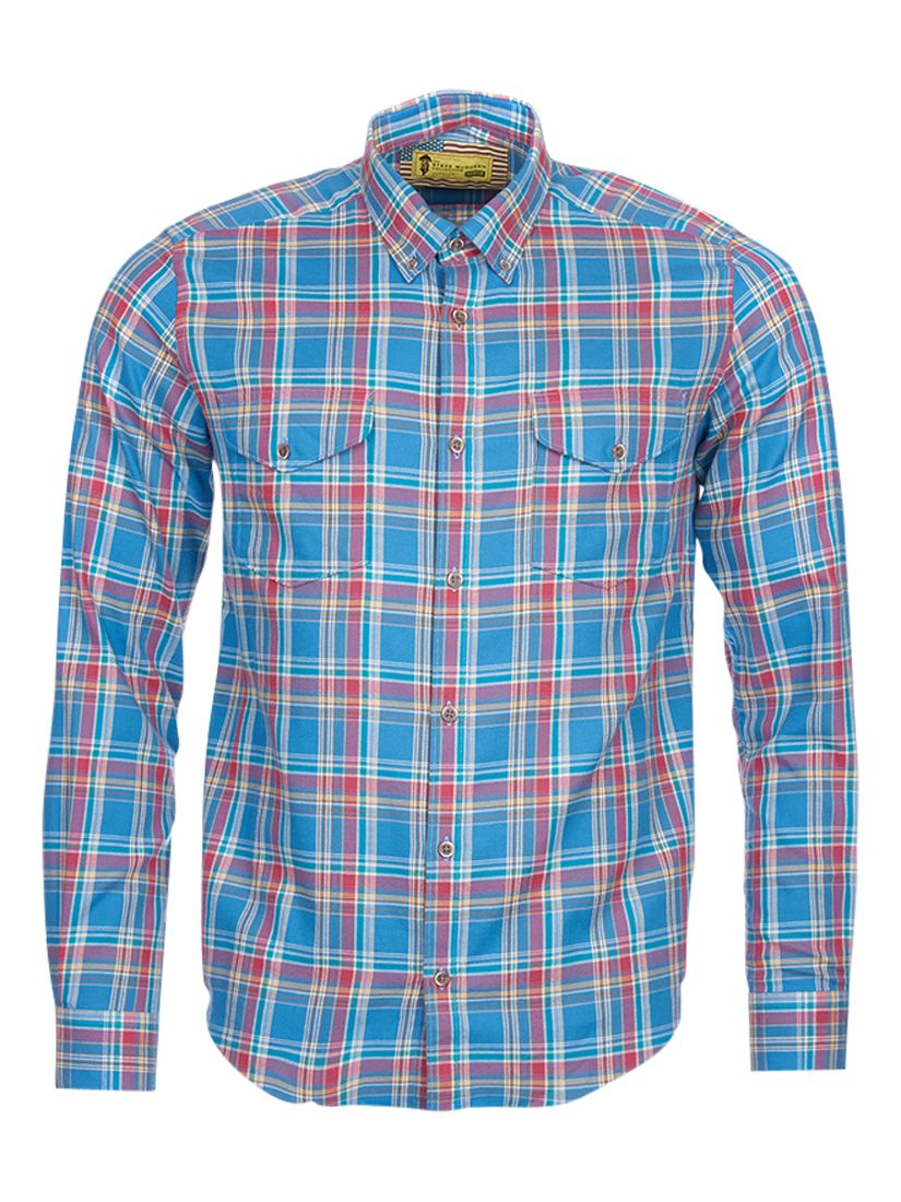 Barbour International Barbour International Steve McQueen West Check Shirt, Chambray