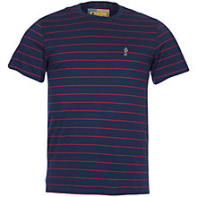 Buy Barbour International Steve McQueen Getaway T-Shirt, Navy Online at johnlewis.com