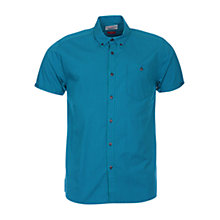 Buy Barbour Larry Short Sleeve Gingham Shirt, Lawn Online at johnlewis.com