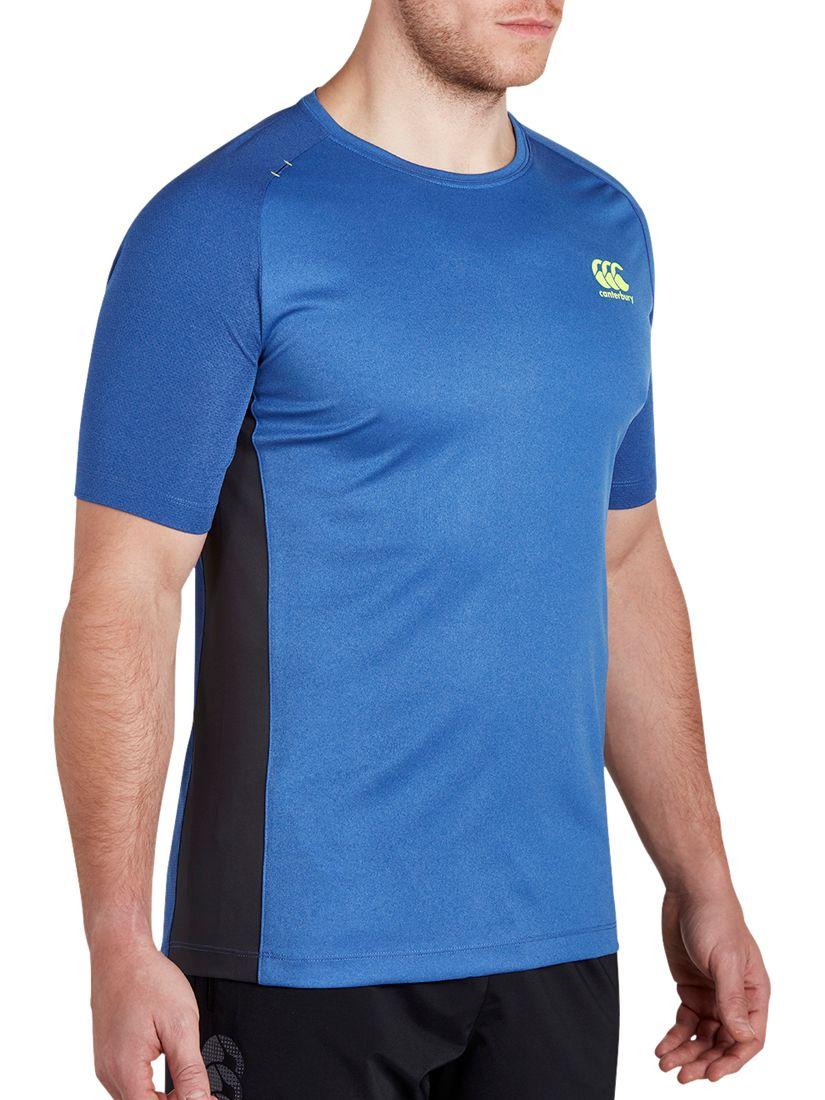 Canterbury of New Zealand Canterbury of New Zealand VapoDri Poly Rugby T-Shirt, Blue