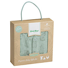 Buy The Little Green Sheep Baby Wild Cotton Rabbit Sleepsuit Gift Set Online at johnlewis.com