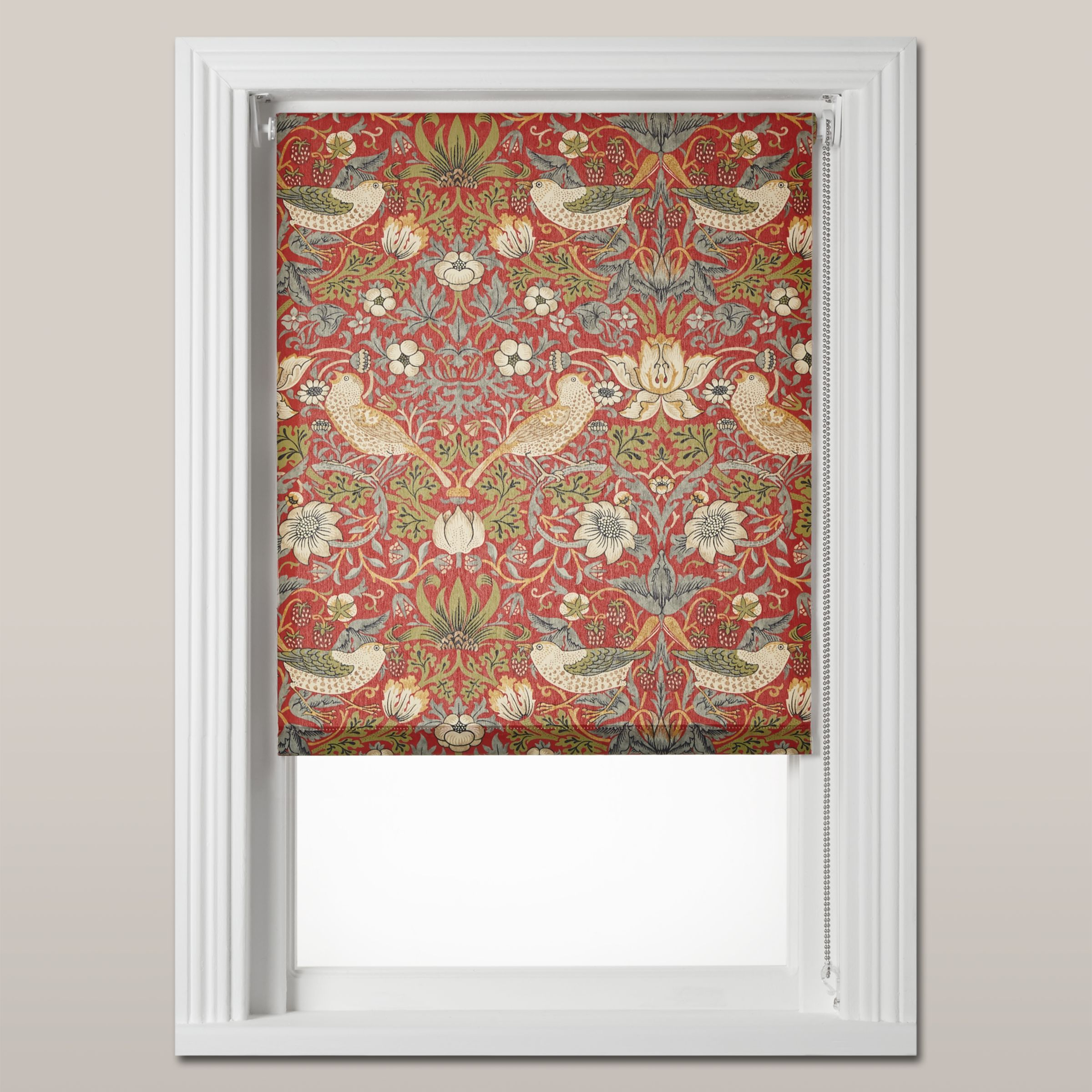 Morris & Co Morris & Co Strawberry Thief Roller Blind