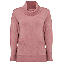 Buy White Stuff Sweet Cowl Neck Jumper, Momo Pink Online at johnlewis.com