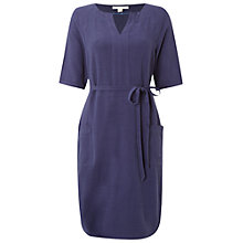 Buy White Stuff Olive Plain Dress, Ink Pot Blue Online at johnlewis.com