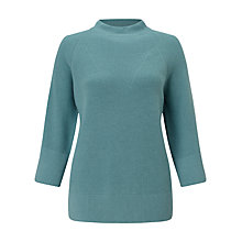 Buy Jigsaw Fishermans Ribbed Jumper Online at johnlewis.com