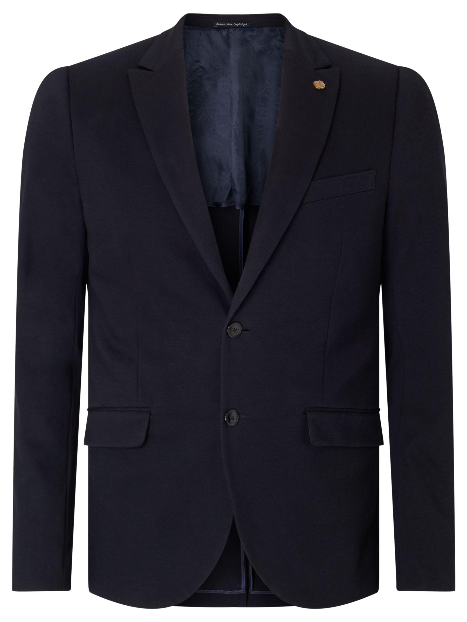 Scotch & Soda Scotch & Soda Jersey Blazer, Night Blue