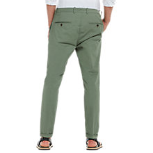 Buy Scotch & Soda Blake Pleated Slim Formal Chinos, Sage Online at johnlewis.com