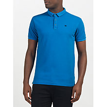 Buy Scotch & Soda Garment Dyed Pique Polo Shirt Online at johnlewis.com