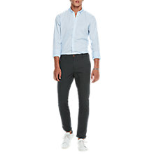 Buy Scotch & Soda Dot Print Oxford Shirt, Blue Online at johnlewis.com