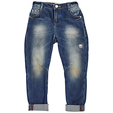 Buy Angel & Rocket Boys' Ethan Mid Denim Jeans, Blue Online at johnlewis.com