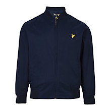 Buy Lyle & Scott Boys' Bomber Jacket, Indigo Online at johnlewis.com