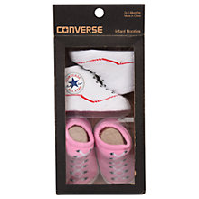 Buy Converse Baby Booties, Pack of 2, One Size Online at johnlewis.com