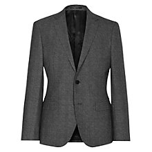 Buy Reiss Host Salt and Pepper Modern Fit Suit Jacket, Charcoal Online at johnlewis.com