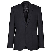Buy Reiss Basie Wool Silk Hopsack Modern Fit Blazer, Navy Online at johnlewis.com