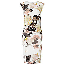 Buy Phase Eight Mayumi Print Dress, Cream/Multi Online at johnlewis.com