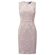 Buy Phase Eight Janie Embroidered Dress, Petal Online at johnlewis.com