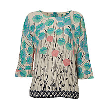 Buy White Stuff Embrace Top, Cream Online at johnlewis.com