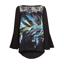 Buy Coast Cinne Printed Top, Multi Online at johnlewis.com